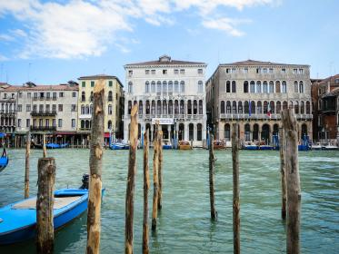 Venice, Italy, buildings, houses, architecture, boats, water, docks, wood, city
