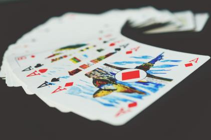 cards, game, aces, symbol, play, gamble, table