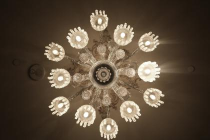 free photo of chandelier  lights
