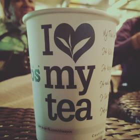 tea, hot, coffee, cup, paper cup, table, love, chill, relax
