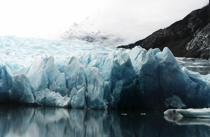 glacier, ice, north pole, water, cold, snow, winter, mountains