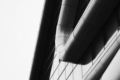 building, structure, architecture, lines, curves, polygons, modern