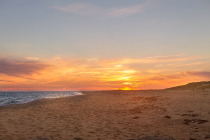 beach,  sunset,  sunrise,  sand,  ocean,  sea,  waves,  sky,  clouds,  vacation,  landscape,  shore,  sun, travel