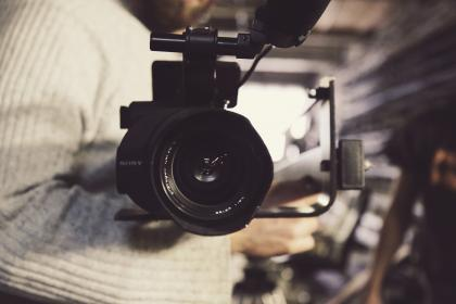 sony, video, camera, lens, production, company, office, blur, people, girl