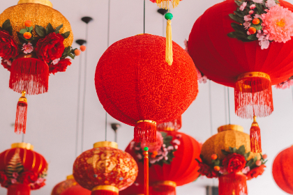 free photo of chinese   lanterns