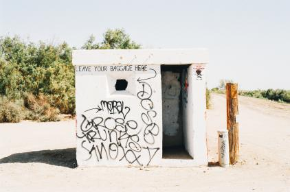 free photo of graffiti  no baggage