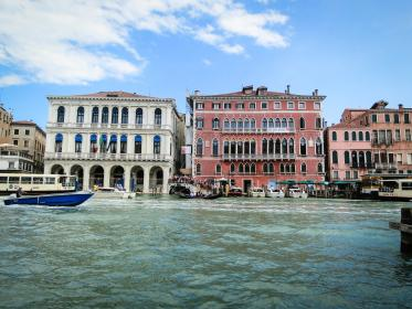 Venice, Italy, buildings, houses, architecture, boats, water, docks, city
