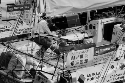 people, man, boat, guy, speed, race, sports, sailing, france, fence, cable, team, player