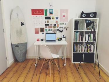 office, desk, business, creative, chair, room, laptop, objects