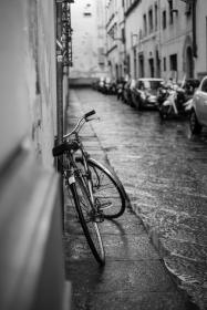 transportation, bicycles, wheels, transportation, hobby, cycling, parked, parking, vehicles, buildings, alleys, city, urban, downtown, metro