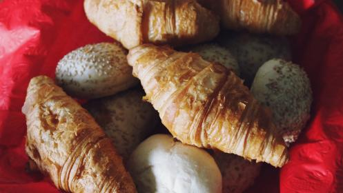 free photo of croissants  pastries