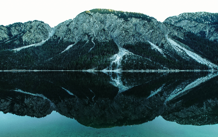 calm,  landscape,  mountains,  snow,  cold,  freeze,  water,  river,  lake,  reflection,  shadowmdusk,  evening