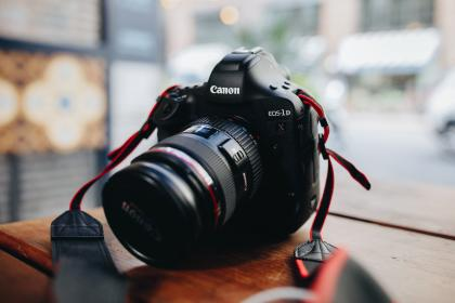 free photo of canon  lens