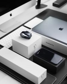 black and white, iphone, apple, product, business, computer, technology, communication, watch, laptop, macbook