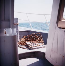 boat, yacht, travel, adventure, rope, water, ocean, sea