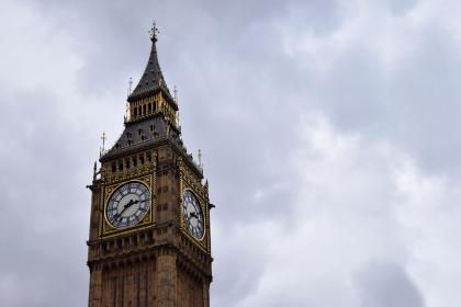 architecture, building, infrastructure, structure, tower, clock, time, clouds, sky