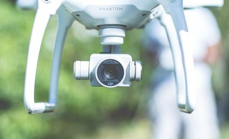 free photo of flying  camera