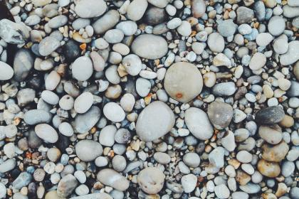 free photo of pebbles  beach