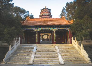 Summer Palace, Beijing, China, architecture, culture, steps