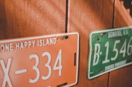 free photo of plate  number