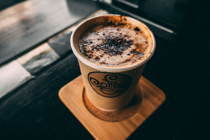 free photo of close-up   cappuccino