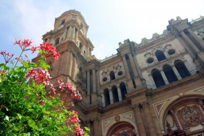 free photo of malaga cathedral  architecture