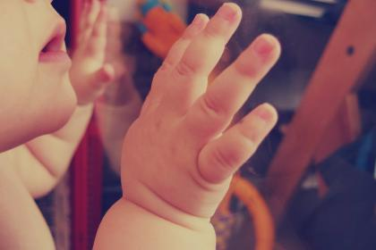 baby, child, hands, mouth, people, family