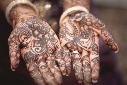 henna, tattoos, hands