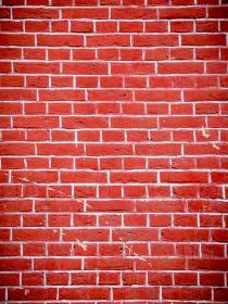 free photo of red  wall