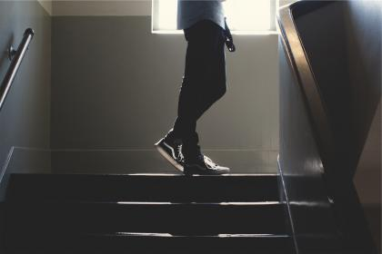 free photo of stairwell  stairway