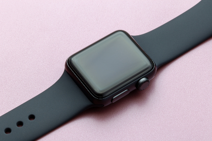 apple,  watch,  close up,  macro,  gadget,  technology,  gear,  equipment,  smartwatch,  wireless,  space gray,  flat lay,  digital,  device