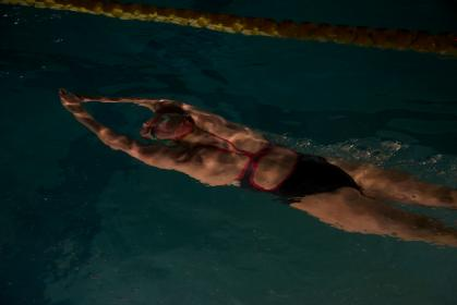 people, woman, swimming, pool, water, athlete, fitness, exercise, sport