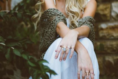 free photo of hands  rings