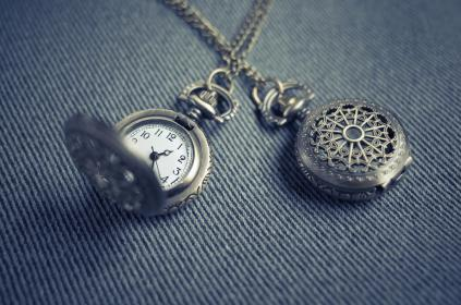 locket, pendant, necklace, watch, time
