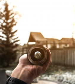 lens, photography, photographer, camera, people, man, hands, house, home, trees