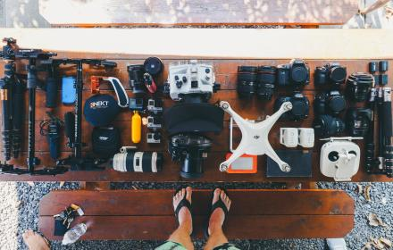 tripad, lens, osmo, camera, canon, dslr, photography, battery, pouch, gopro, drone