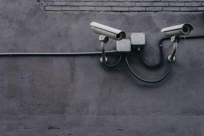 concrete, wall, pipe, cctv, camera, security