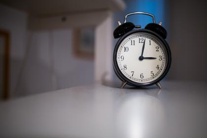 clock, time, alarm, objects