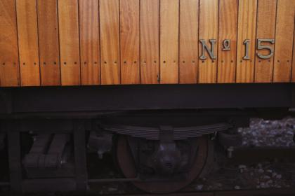 train, tracks, railroad, wheel, wood, paneling