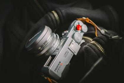 camera, lens, photo, fujifilm, photo, equipment, zipper