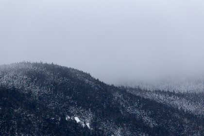 winter,   mountain,   landscape,   snow,   clouds,   climate,   nature,   scenic,   view,   cold,   sky,   fog,   weather,   outdoor,   mist,  trees,  forest