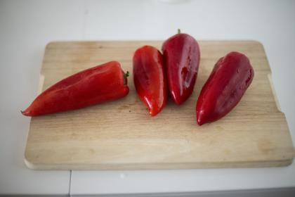 red, vegetable, food, bell, chili, pepper, spice