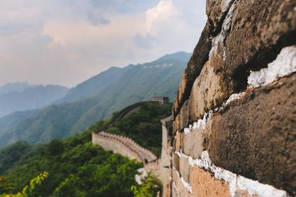 great, wall, china, tourist, destination, spot, tour, mountain, nature, outdoor, travel, clouds, sky, landscape, view, highland