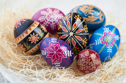 free photo of decorative   eggs