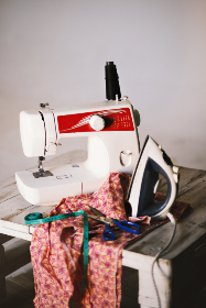 sewing,  machine,  iron,  clothes,  fashion,  table,  fashion designer,  scissors