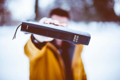 people, man, blur, male, holy, bible, book, outdoor, snow, winter