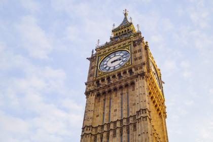 architecture, building, infrastructure, blue, sky, big ben, clock, time