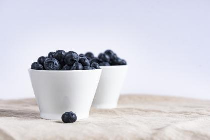 blueberries, fruits, food, healthy, bowl, white