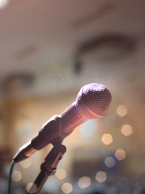 microphone,  music,  bokeh,  lights,  sounds,  sing,  song,  abstract,  background