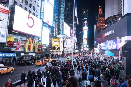 NYC, TimesSquare, City, Lights, people, billboards, america, crowd, busy, pedestrians, buildings